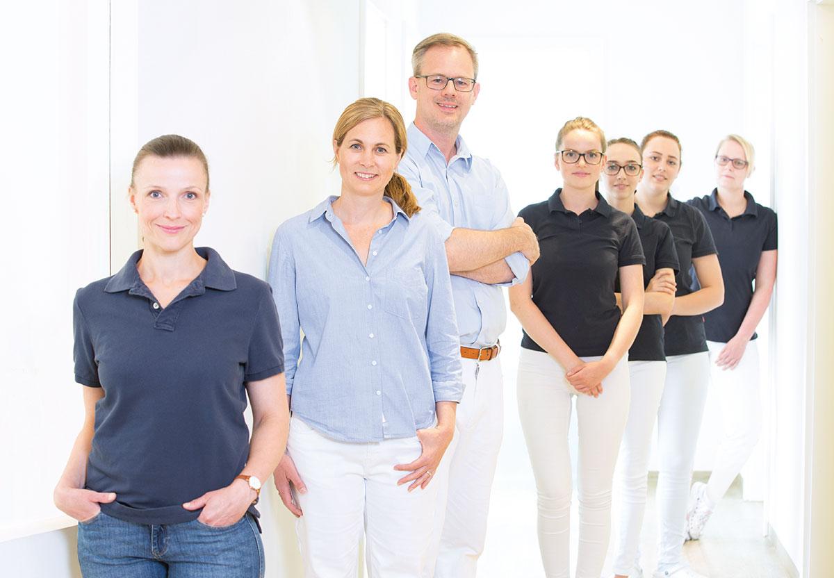 Zahnarztpraxis Busche Team